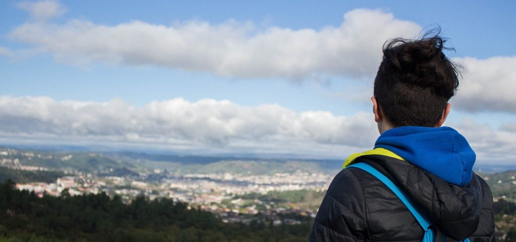 vistas Ourense dende O Cumial